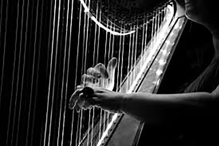 Harpist Nora McGinnis, 2nd Saturday of the Month, 5-9pm